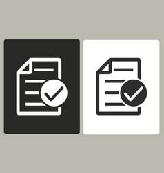 Checklist - icon vector