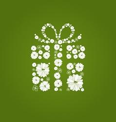 FlowerGift vector image