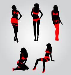 Sexy lingerie vector