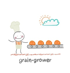 Grain grower vector