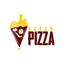 Urban pizza vector