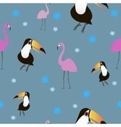 Birds pattern seamless vector