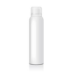 Blank deodorant spray for women or men vector