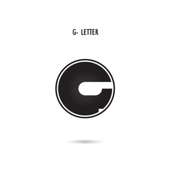 G-letter abstract logo vector image vector image