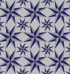 seamless background of geometric shapes vector image vector image