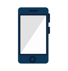 smartphone screen mobile vector image vector image