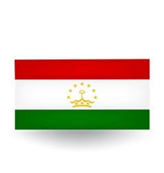Tajikistan Flag vector image