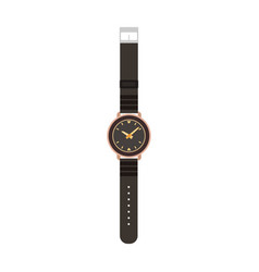 watch man isolated wrist hand time tv men design vector image