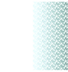 White background with diamond border vector