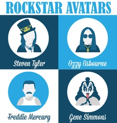 Rockstar-avatars-1 vector