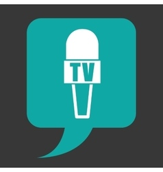 News microphone vector