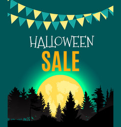 Halloween party background template royalty free vector halloween sate poster background template vector image vector image sciox Choice Image