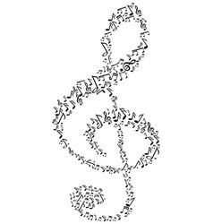 music note symbol vector image