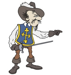 Musketeer vector
