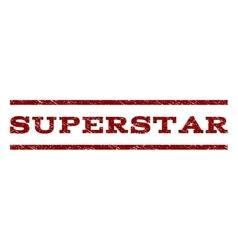 Superstar watermark stamp vector