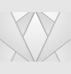 Grey abstract concept technology background vector