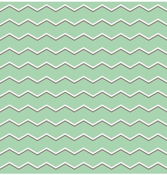 Tile pattern with brown and white zig zag print vector image vector image