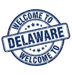 Welcome to delaware vector