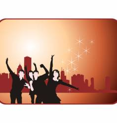 youth party vector image vector image
