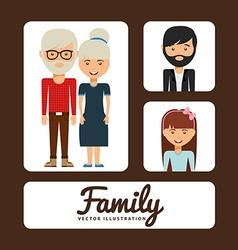 family album vector image