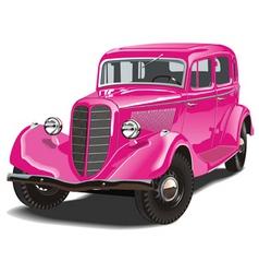 Russian retro car vector image vector image