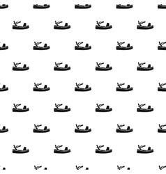 Sandal pattern simple style vector