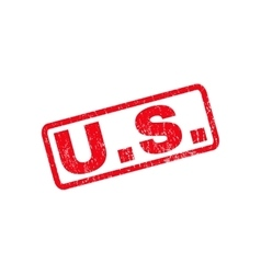 Us rubber stamp vector