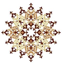 Antique ottoman turkish pattern design one vector