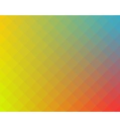 Multicolored checked pattern background vector