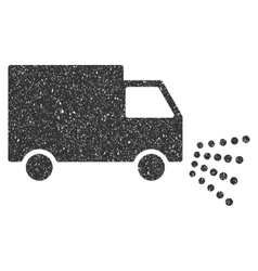 Washing car icon rubber stamp vector