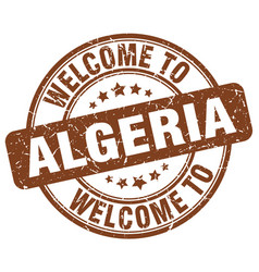 Welcome to algeria vector