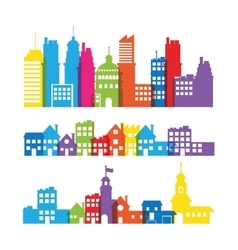 City Skyline design vector image