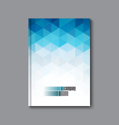 Abstract business brochure flyer and cover design vector