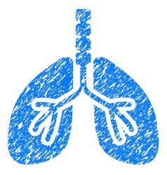 breathe system grunge icon vector image