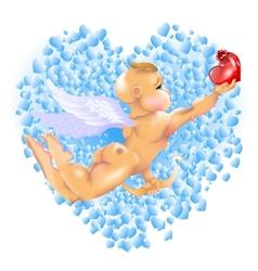 Cupid Hearts vector image