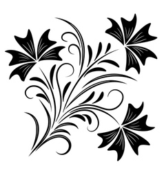 decorative ornament vector image