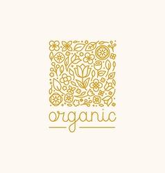 simple and elegant logo design template vector image