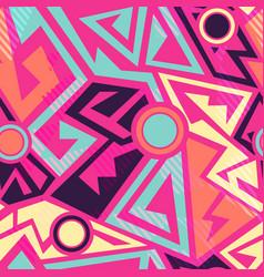 Bright geometric pattern vector