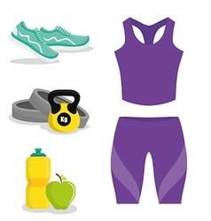 Gym digital design vector