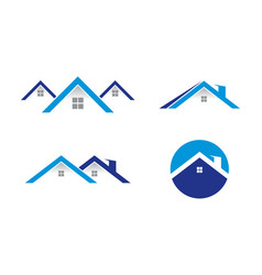house logo template vector image