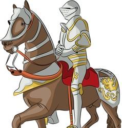 knight 8 vector image