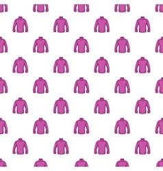 Men sweater pattern cartoon style vector