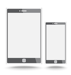 Smart phone and tablet vector