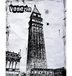 amazing Venice vector image