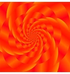 Red spiral background fractal pattern vector