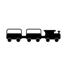 train baby toy vector image
