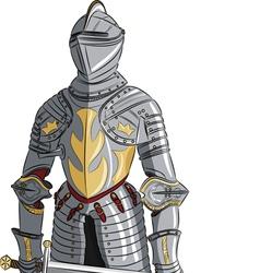 armor d vector image