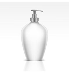 Blank dispenser pump for liquid soap foam or gel vector