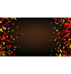 Brown abstract background vector