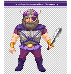 Male viking vector